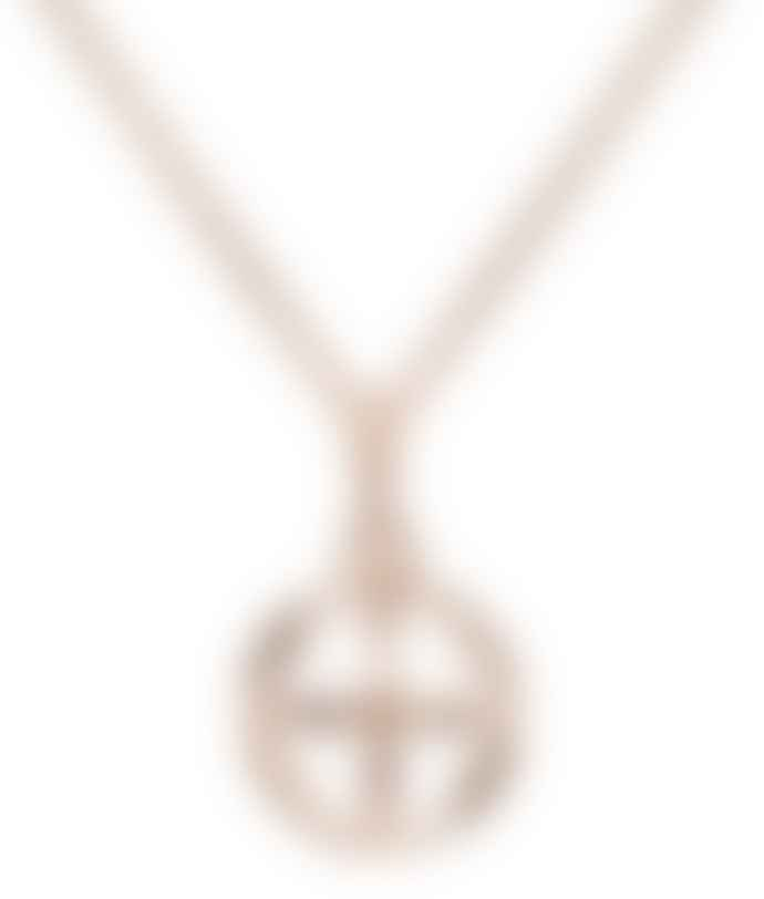 Kiki Minchin Rose Gold Baby Roxy Cage Necklace