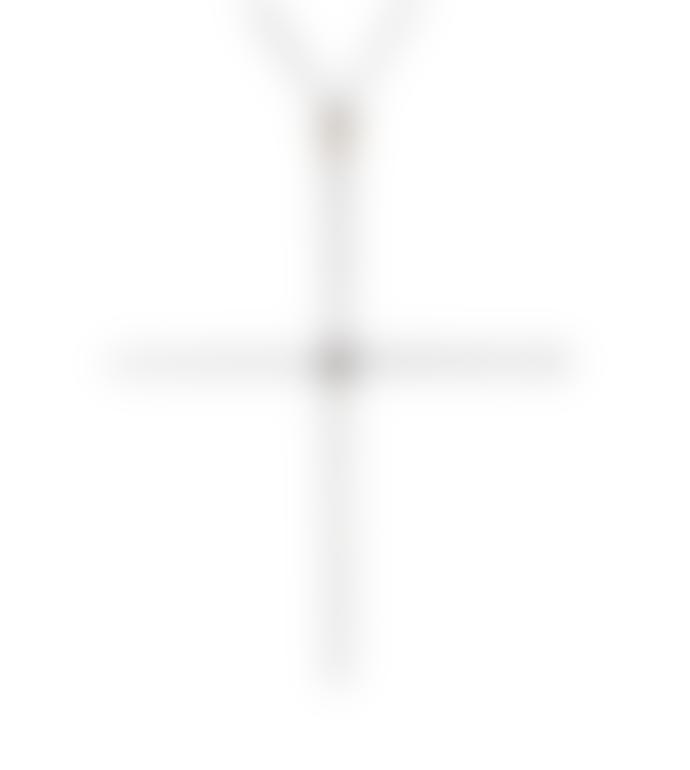 Kiki Minchin Classic Silver Cross Necklace