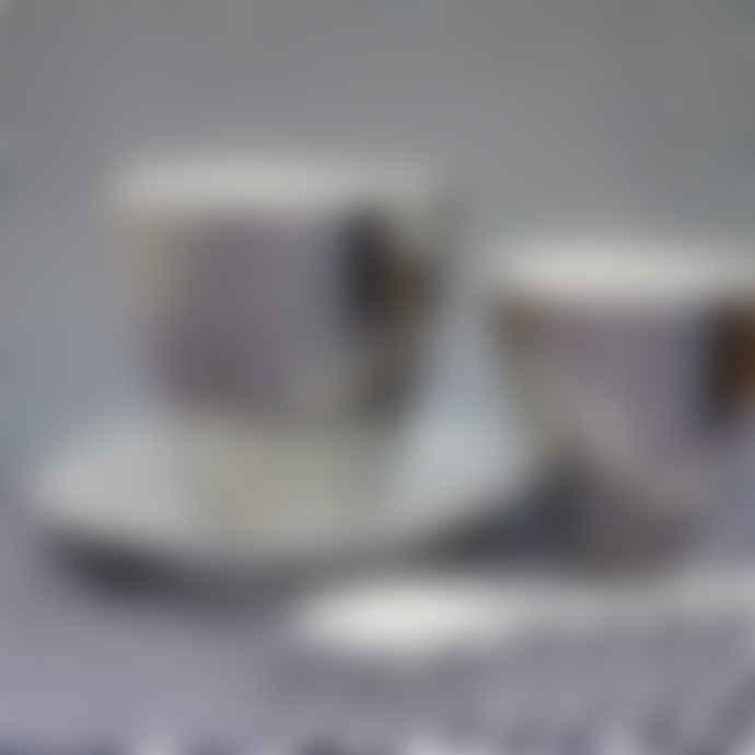 Tse & Tse Platinum Tea Cup
