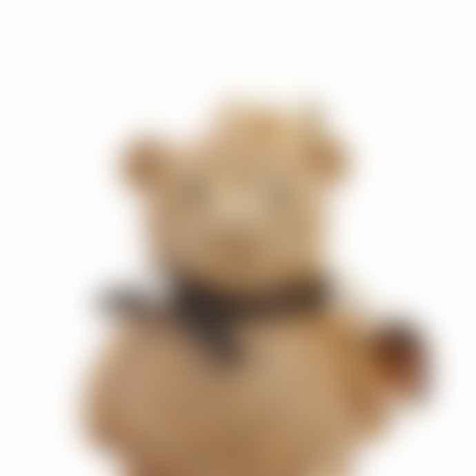 Gold Swarovski Crystal Teddy Bear Keyring