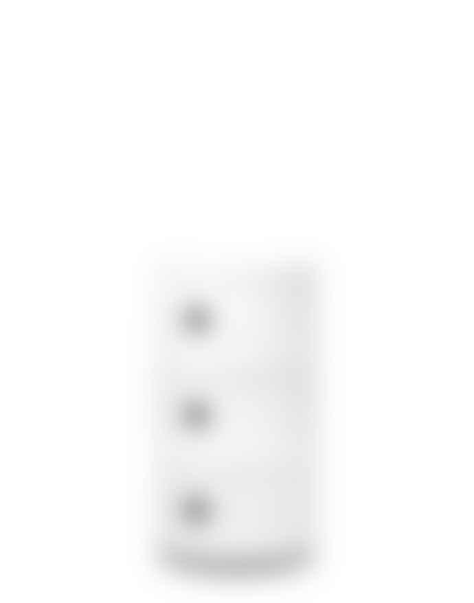 Kartell White Three Door COMPONIBILI Cabinet