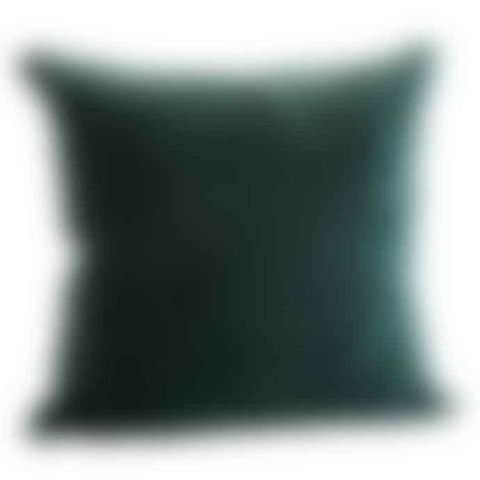 Bottle Green Velvet Cushion