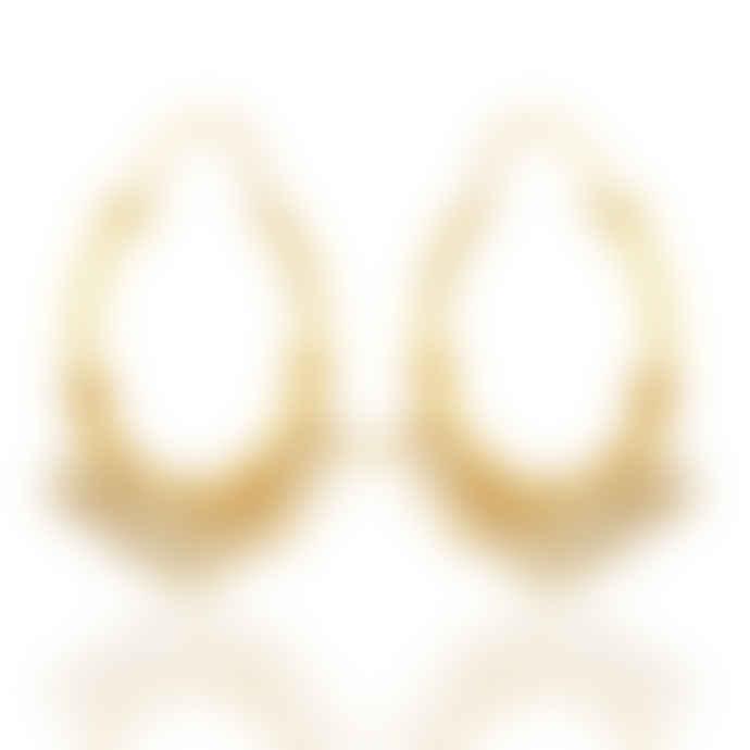 Carousel Jewels  Pearl Cluster Hoops Earrings