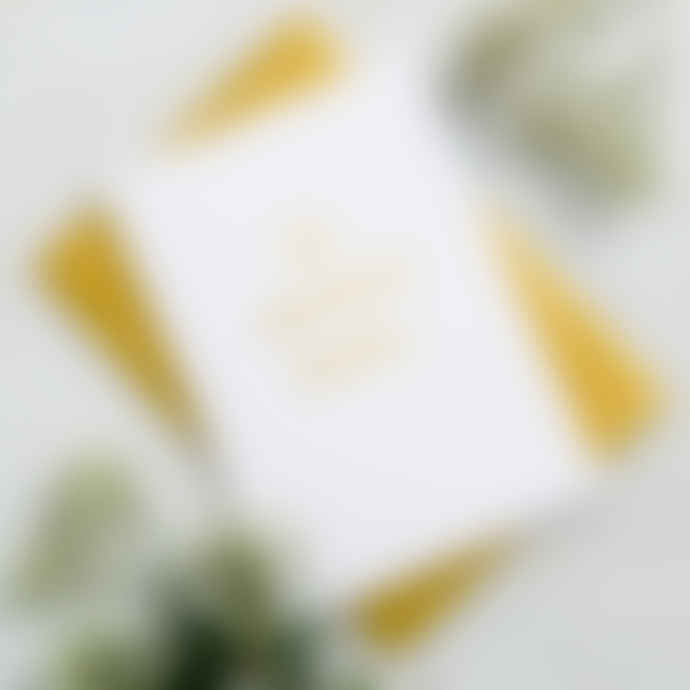 Posh Totty Designs The Adventure Begins Wedding Card