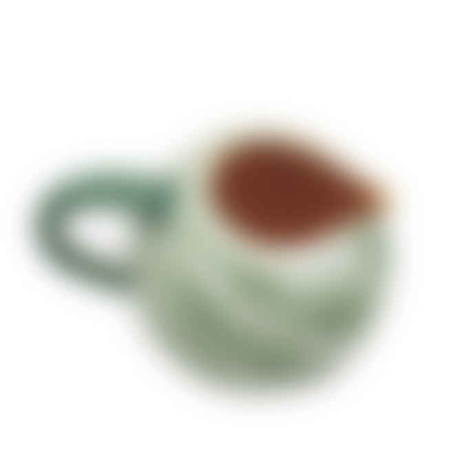 - Handmade Ceramic Cantaloupe Melon Pitcher