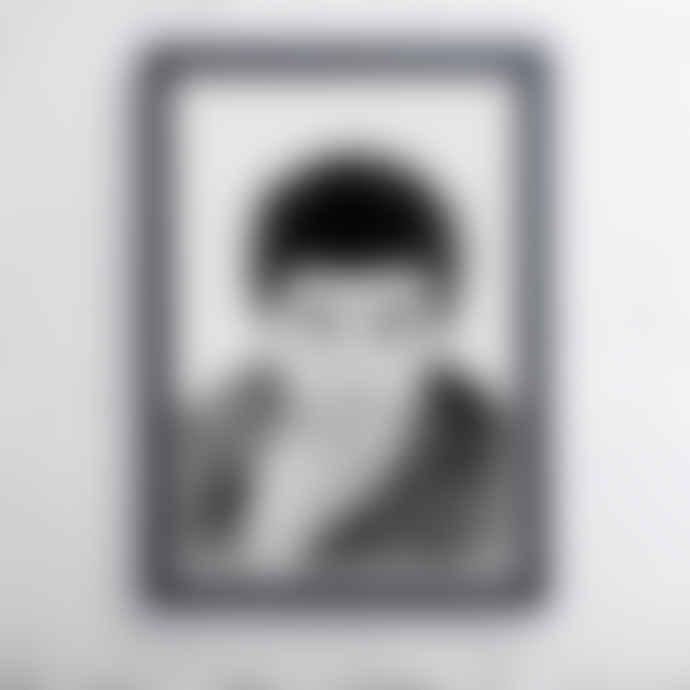East End Prints  Ian Curtis Portrait A3 Unframed Print