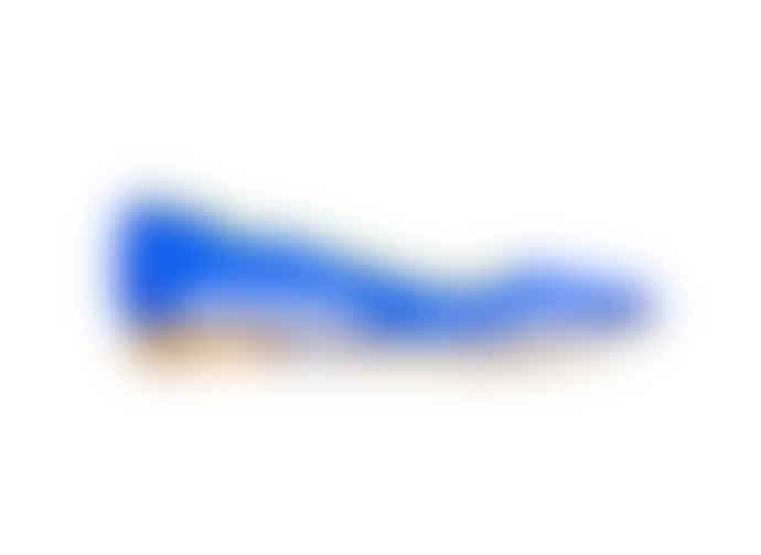 La Paire Alex Metallic Turquoise Pumps Shoes