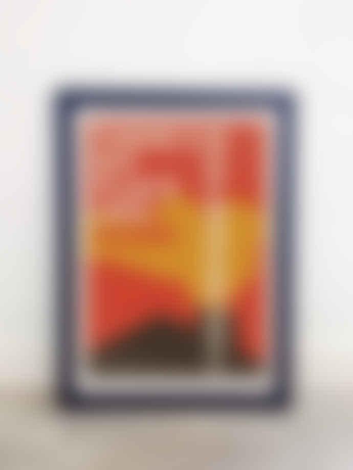 East End Prints  No Place Like Home Japanese Typo A2 Framed Print