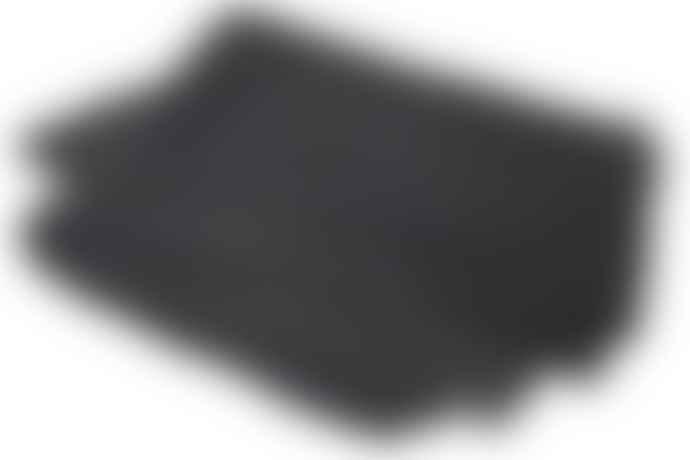 Broste Copenhagen Dark Grey  King Size Quilted Velvet Bedspread