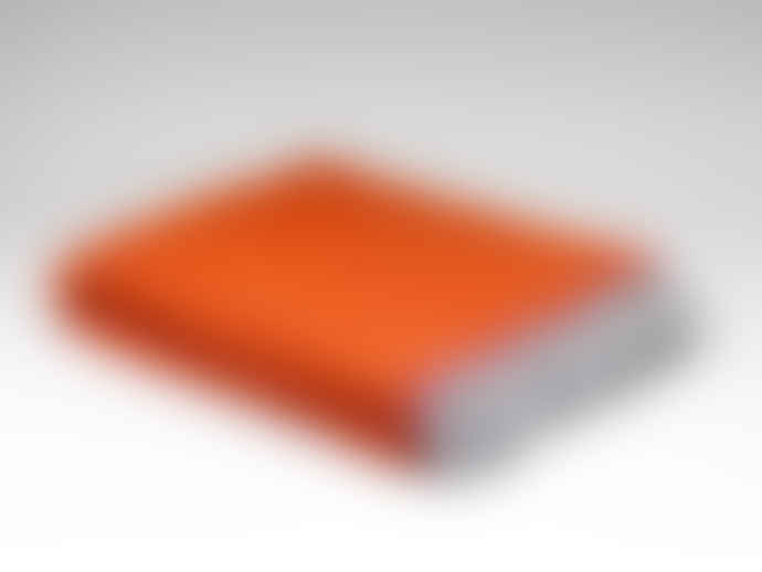 Barnbury Home Orange Balmoral Herringbone Throw
