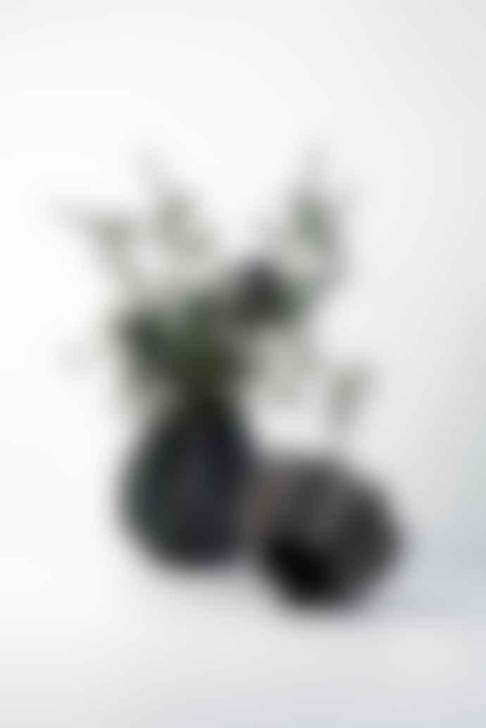 Menu Folded Vase Tall Carbon