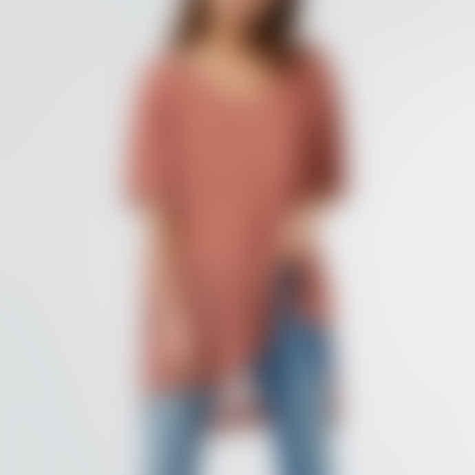 Ille de Cocos Sunset Pink Oversize Sweater