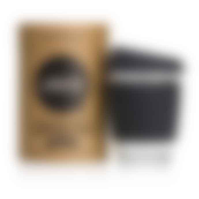 JOCO 12 Ounces Black Glass Coffee Cup