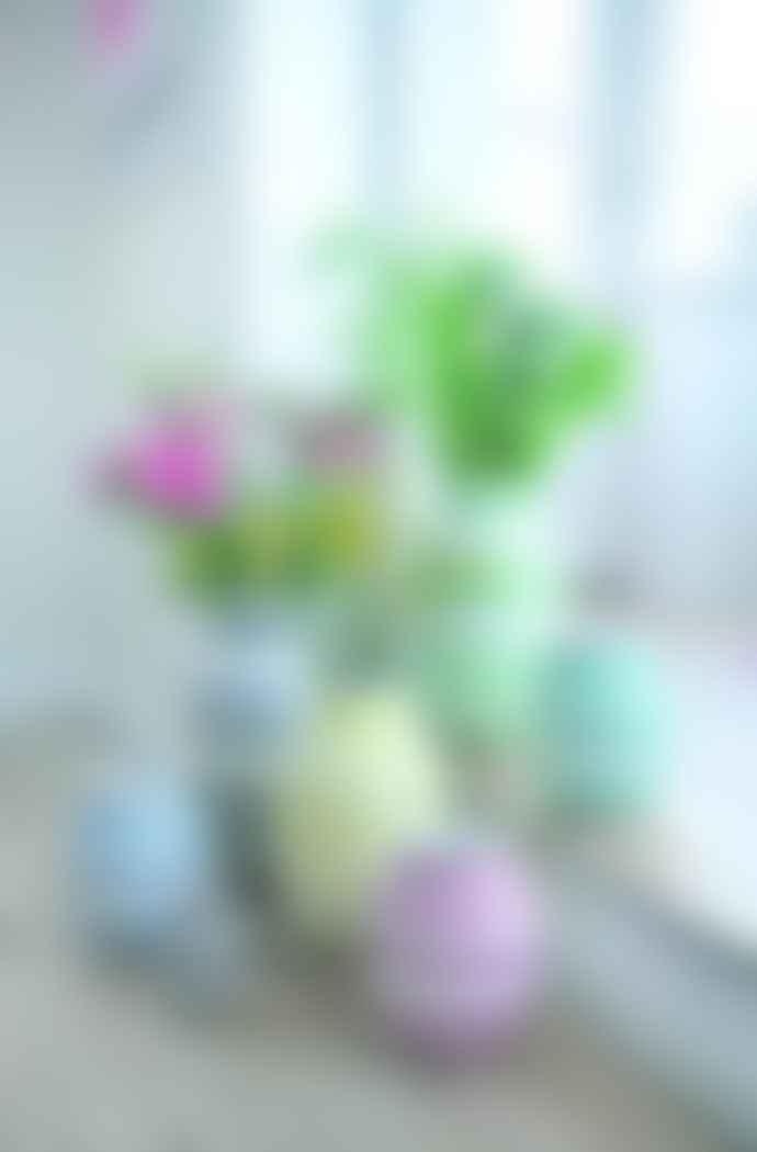 Kahler Omaggio Vase Grey 20cm