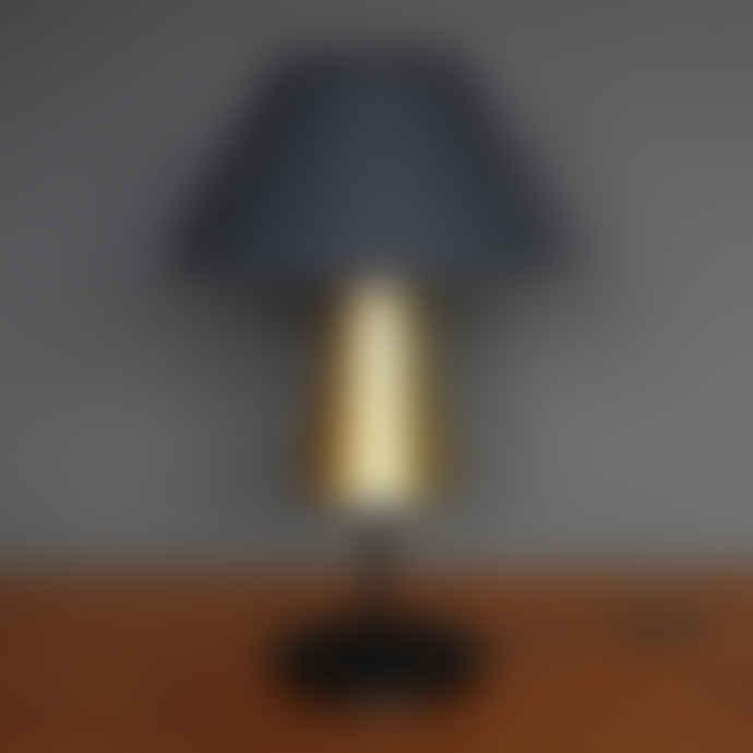 Magnus Pettersen Studio Anthracite/Brass Beacon Lamp