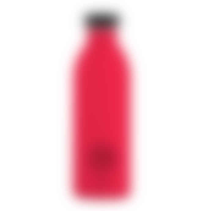 24Bottles Red 500ml Steel Urban Water Bottle