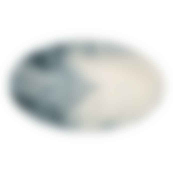 Bliss Home Marble Effect Oval Platter
