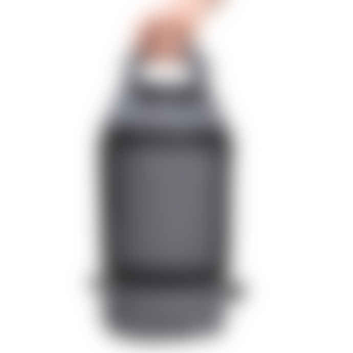 24Bottles Grey Sportiva Top Load Duffel Bag