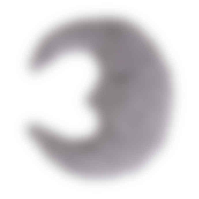 Bloomingville Grey Moon Cushion