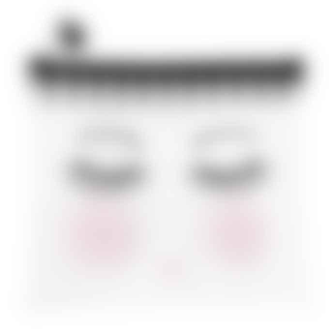 Miss Etoile Multi Purpose Cosmetic Zip Travel Bag Medium 'Eyes Closed' Design