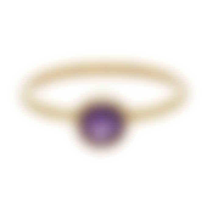 Carousel Jewels  Amethyst Round Stacking Ring