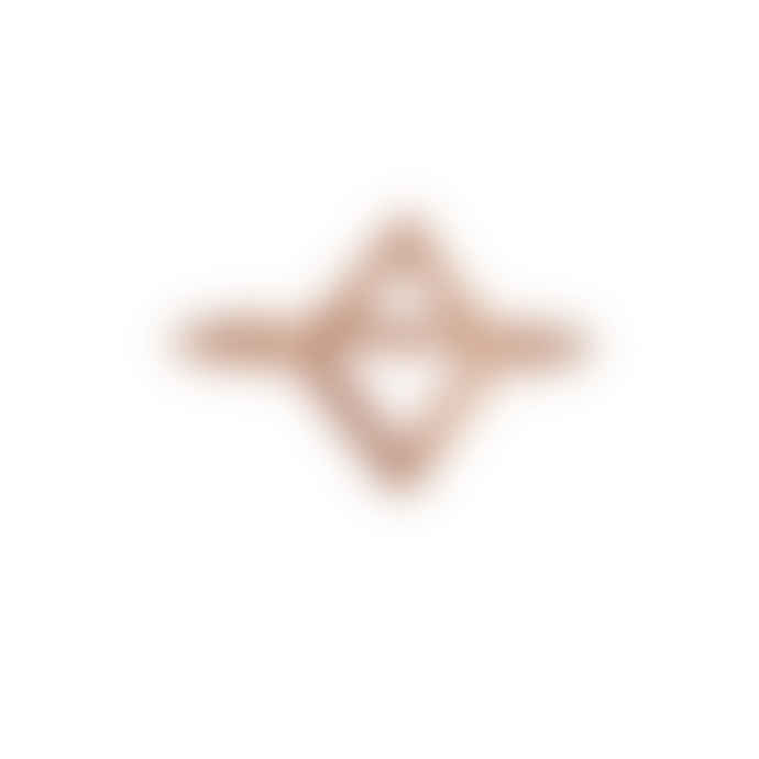 Carousel Jewels  Rose Gold Minimal Diamond-shaped Ring