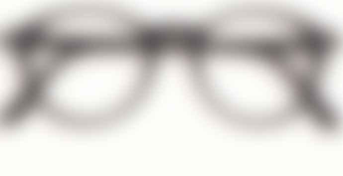 IZIPIZI Stylish Unisex Black Rounded Reading Glasses