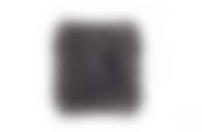 Kelly Hoppen Dark Grey Tibetan Lamb Fur Cushion