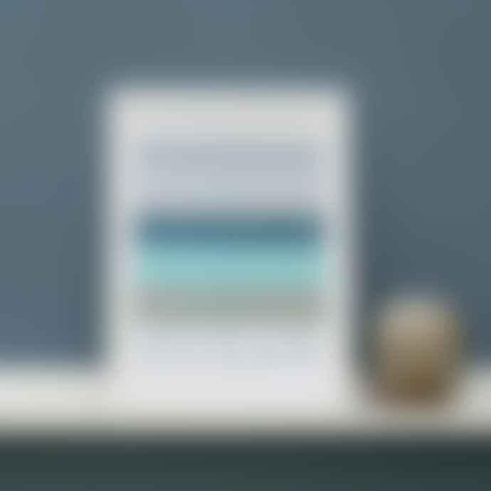 LIGA A3 Ocean Elemental Print