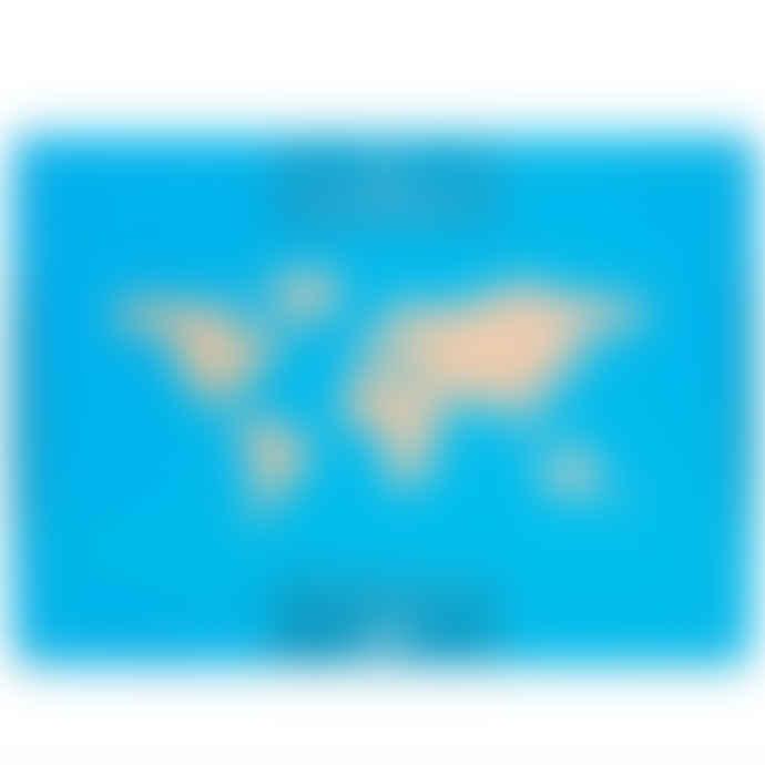Corkboard World Map
