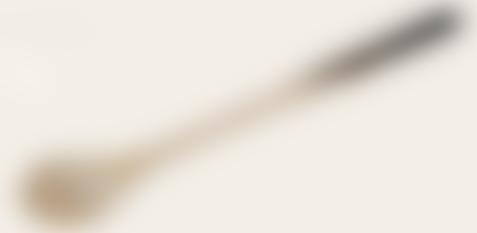 Redecker Horn Extra Long Jam Spoon