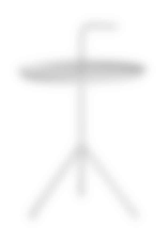 HAY White DLM Side Table