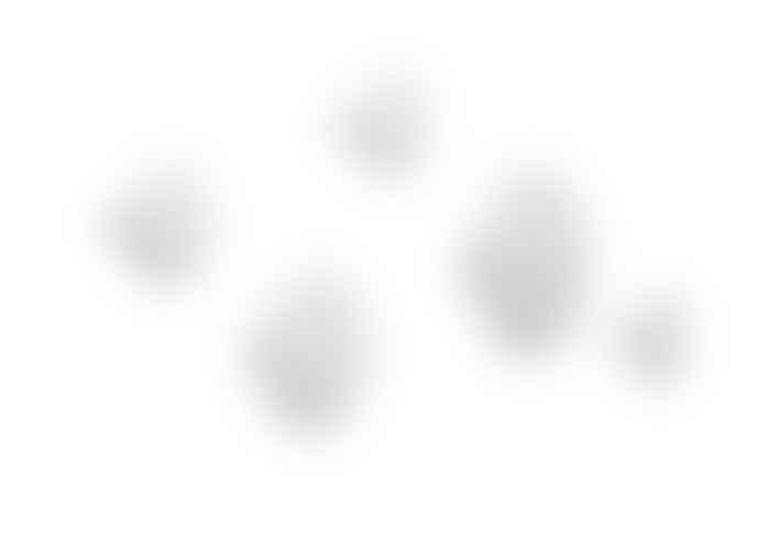 Muuto White DOTS (Pack of 5) Coat Hooks