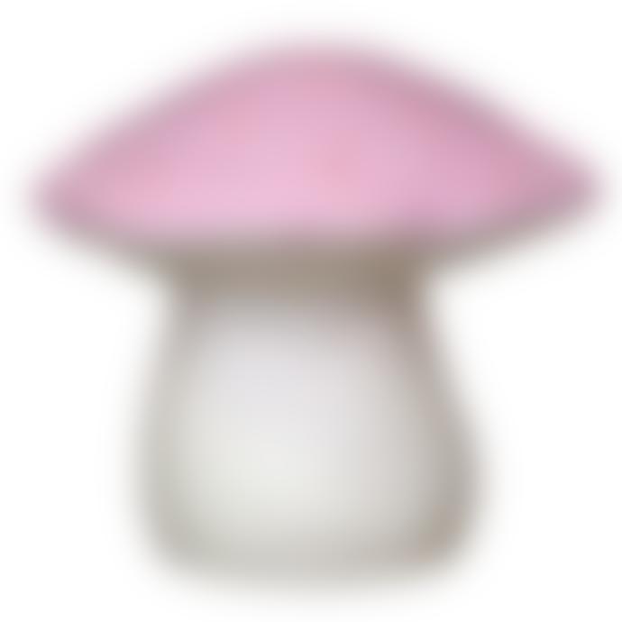 Egmont Large Pink Mushroom Toadstool Night Light Lamp