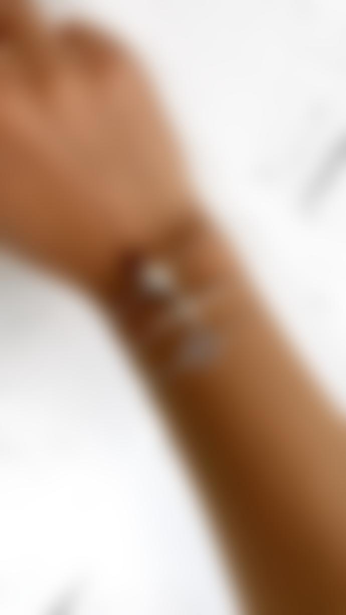 Kiki Minchin Baby Roxy Silver Disc Chain Bracelet