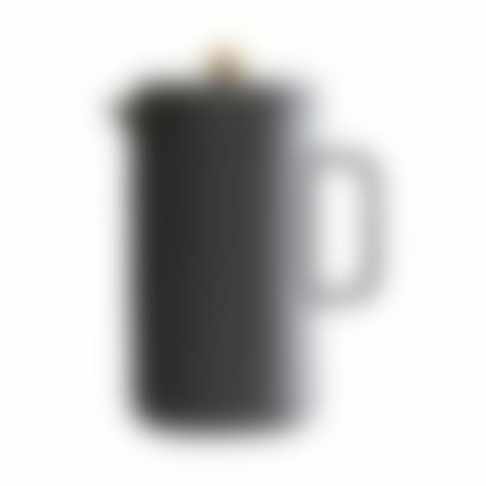House Doctor Ceramic Coffee Pot in Dark Grey / Black