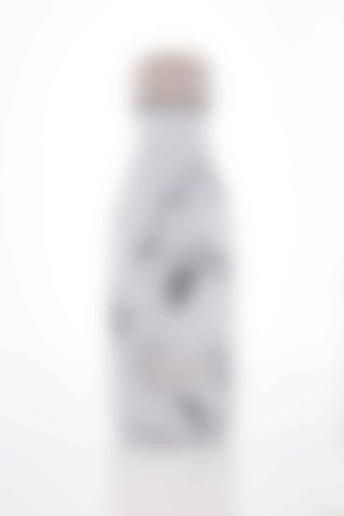S'well 260ml White Marble Bottle