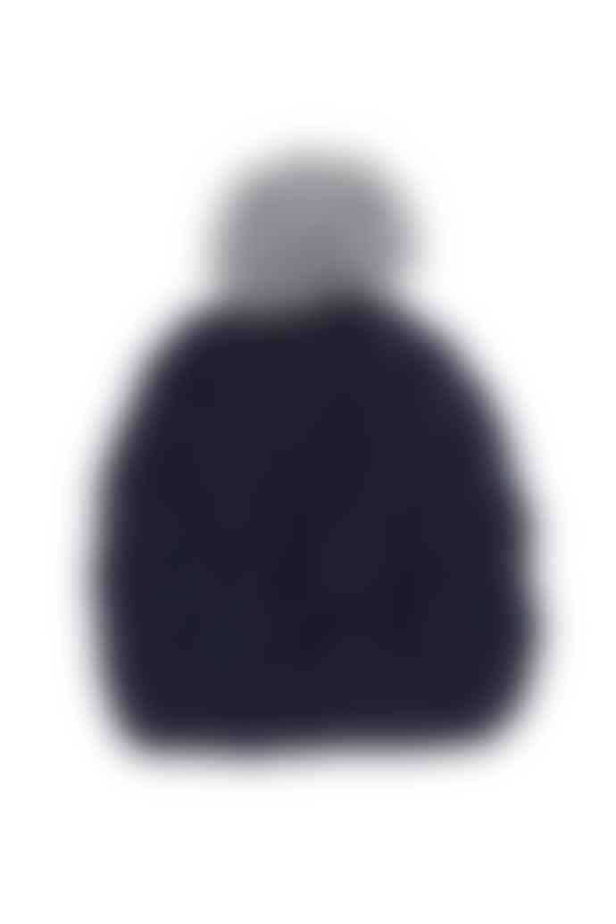 Les 100 Ciels Puffin Bobble Hat Knit Kit - Navy