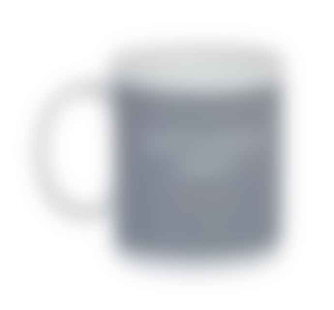 British Colour Standard Espresso Bone China Grey Coffee Cup Mini Mug - SET OF 6