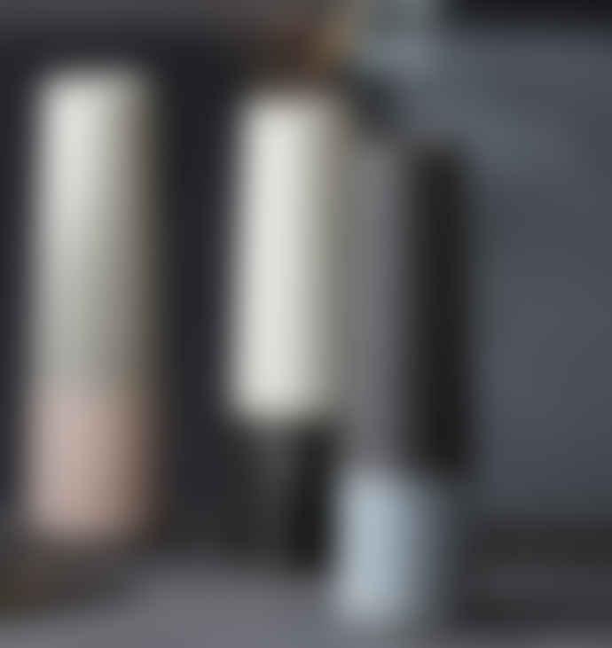 House Doctor  Black Grey Tube Vase