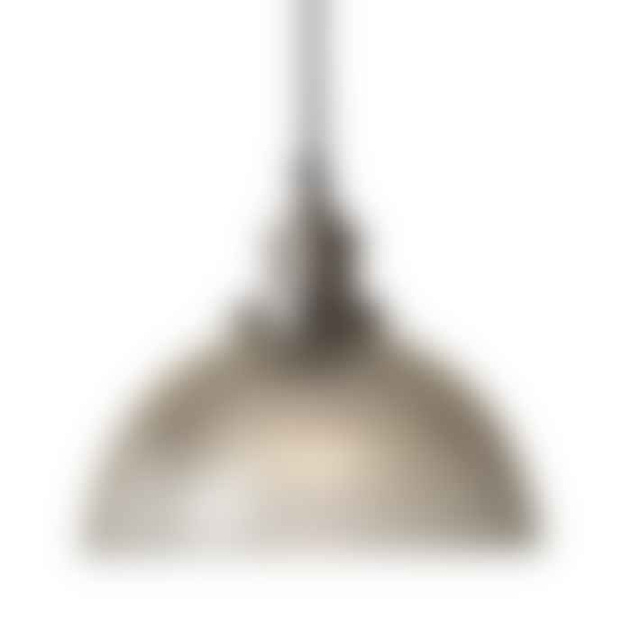 Culinary Concepts Ribbed Dome Shade Pendant Light
