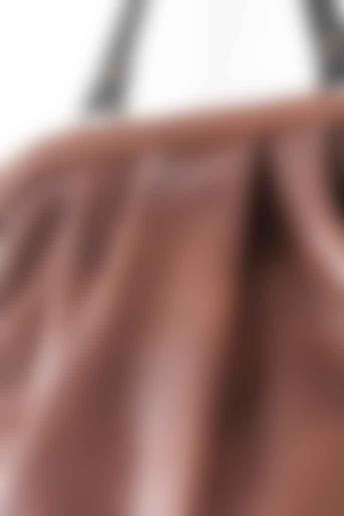 CollardManson Tan Anya Shoulder Bag
