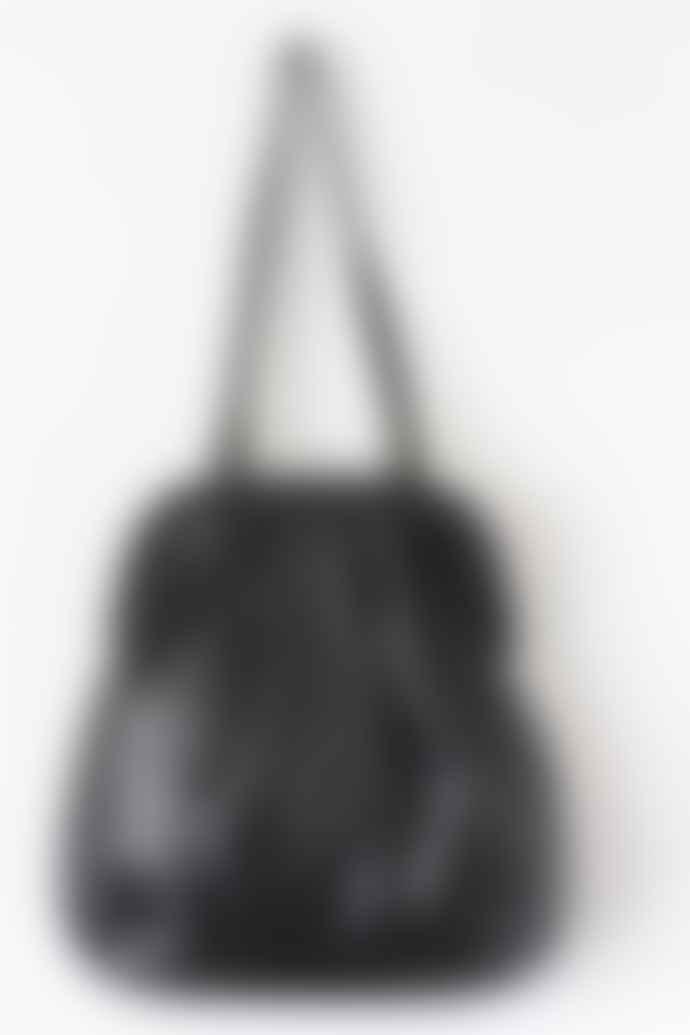 CollardManson Black Anya Tote Bag