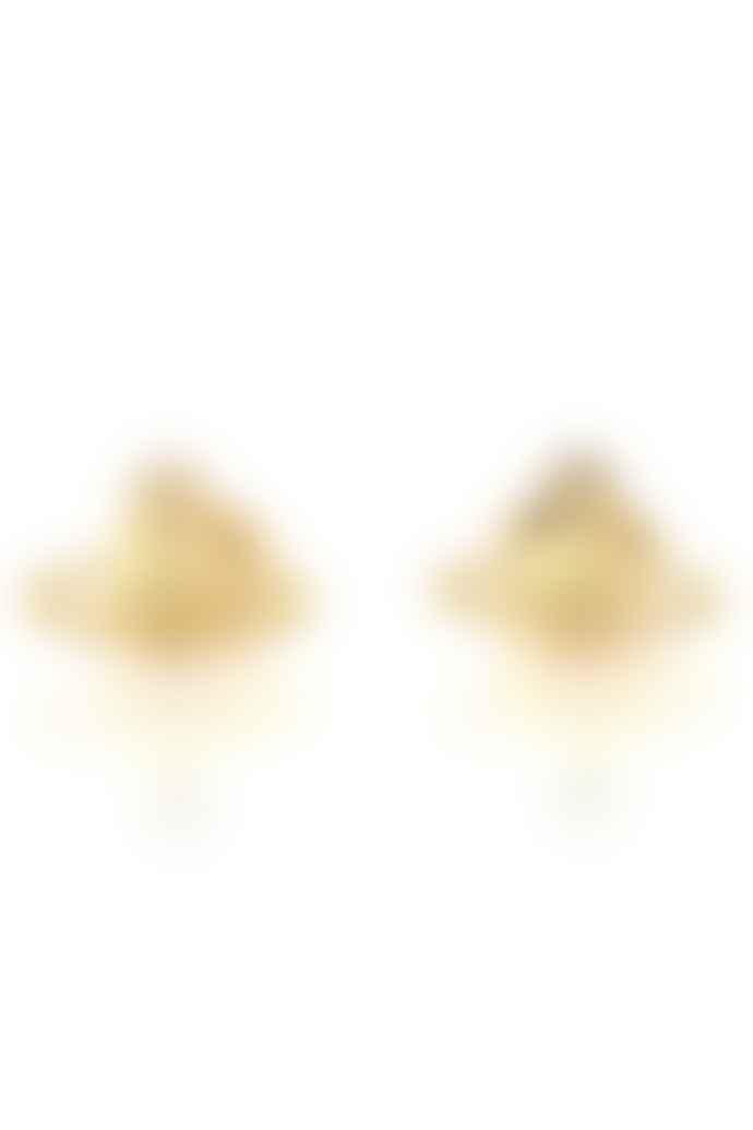 Vivienne Westwood  Gold Farah Earrings