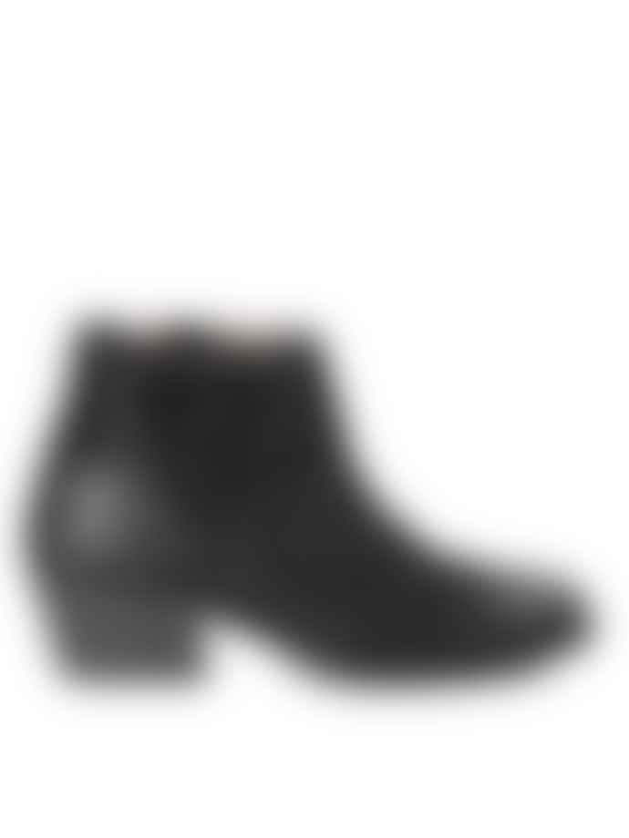 Hudson Ankti Black Boot