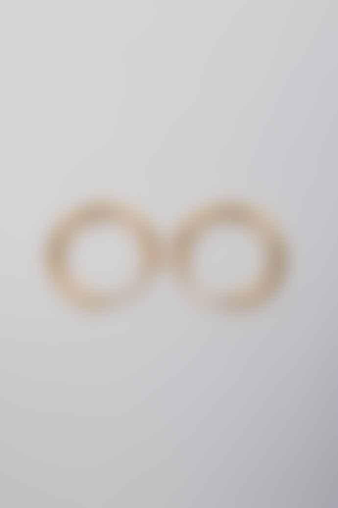 Louise Kragh Gold Enamel 0306 Earrings