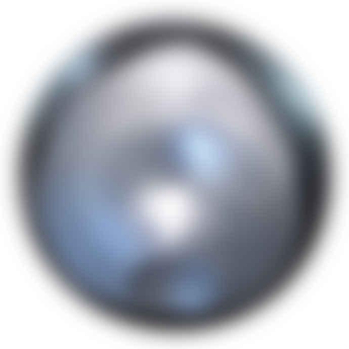 Indigo & Wills Silver Egg Tealight Holder