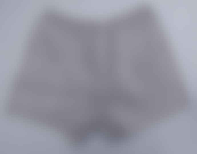 Indigo & Wills Charcoal Stripe Line Boxer Shorts