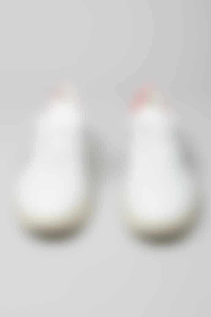 Veja White Men's Nautico Pekin V 10 Leather Trainers