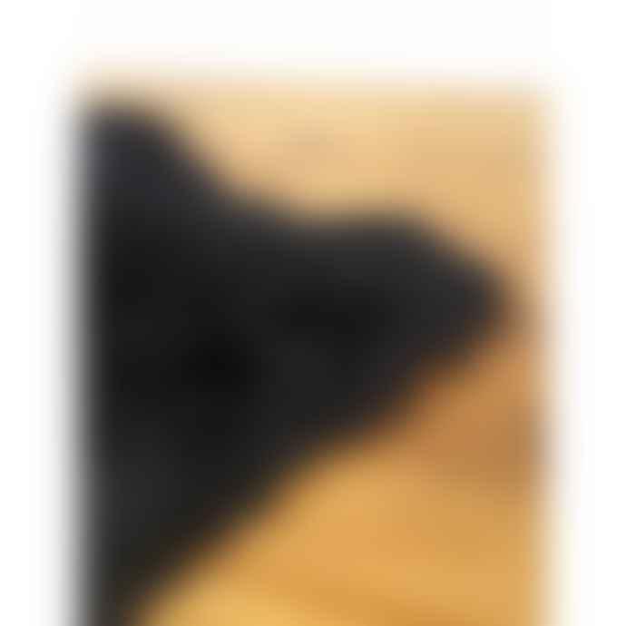 Black Luxury Sheepskin Rug